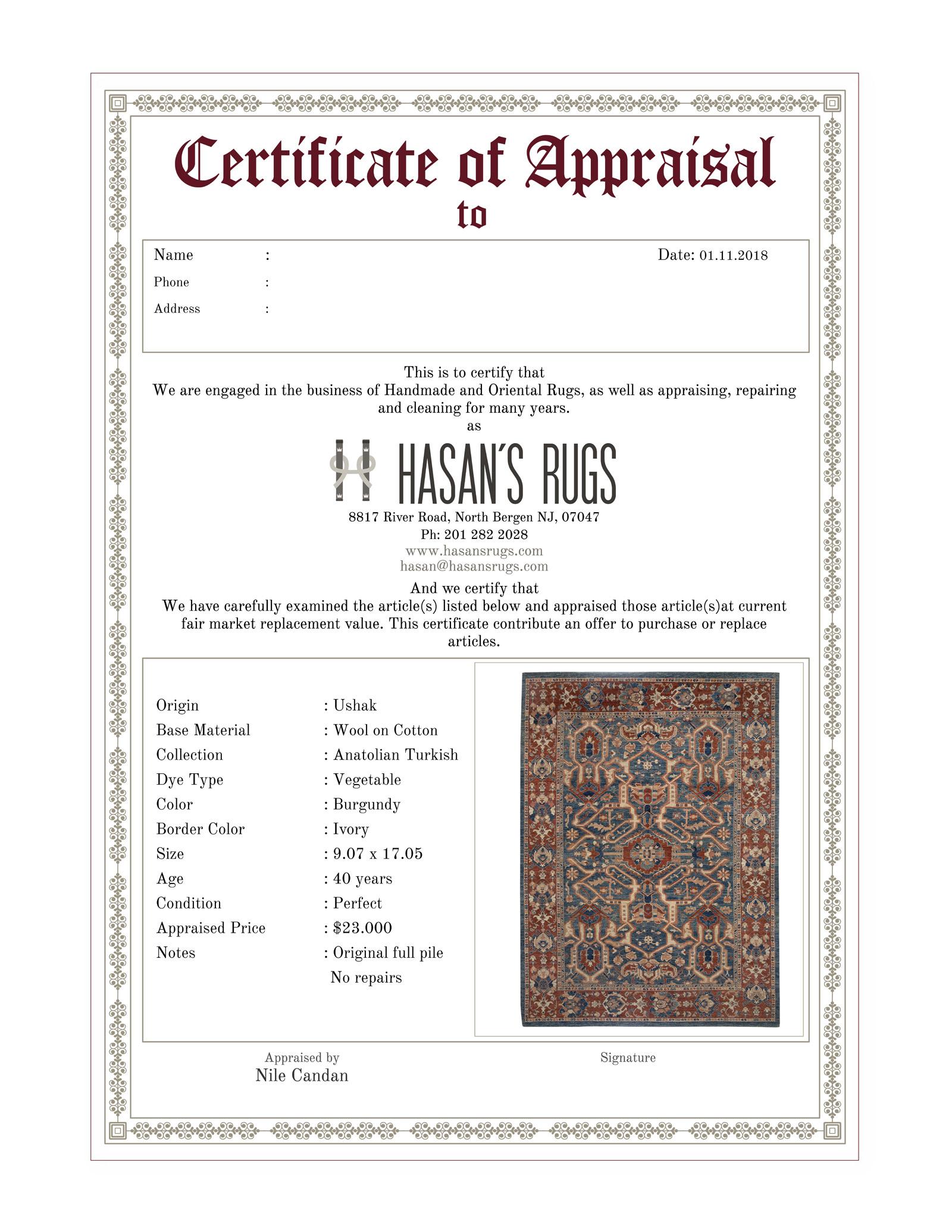 Professional Rug Appraisal Hasan S Rugs
